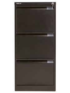 Steel Bisley 3 Drawer Classic Steel Filing Cabinet