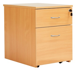2 Drawer Fraction Plus Low Mobile Pedestal