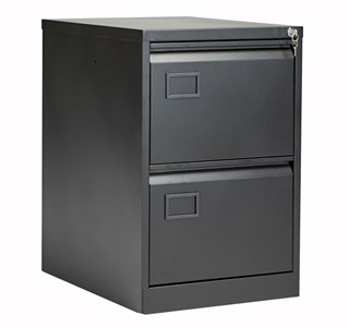 Steel Bisley 2 Drawer Contract Steel Filing Cabinet