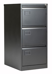 Steel Bisley 3 Drawer Contract Steel Filing Cabinet