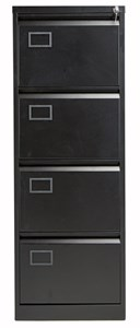 Steel Bisley 4 Drawer Contract Steel Filing Cabinet